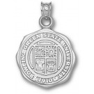 "Bowling Green State Falcons ""Seal"" Pendant - Sterling Silver Jewelry"