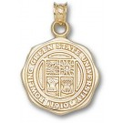 "Bowling Green State Falcons ""Seal"" Pendant - 14KT Gold Jewelry"