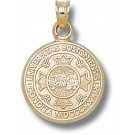 """Boston Terriers """"Seal"""" Pendant - 14KT Gold Jewelry"""