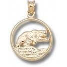 "Baylor Bears ""Bear"" Pendant - 14KT Gold Jewelry"