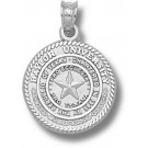 """Baylor Bears """"Seal"""" Pendant - Sterling Silver Jewelry"""