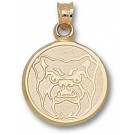 "Butler Bulldogs ""Bulldog Head"" Pendant - 14KT Gold Jewelry"