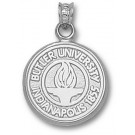 """Butler Bulldogs """"Seal"""" Pendant - Sterling Silver Jewelry"""