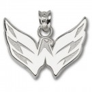 "Washington Capitals 5/8"" Eagle Pendant - Sterling Silver Jewelry"