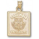 """Columbia Lions Square """"Seal"""" Pendant - 10KT Gold Jewelry"""