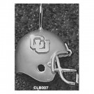 "Columbia Lions ""CU Football Helmet"" Pendant - Sterling Silver Jewelry"