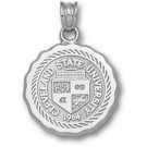 "Cleveland State Vikings ""Seal"" Pendant - Sterling Silver Jewelry"