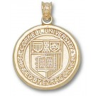 """Cornell Big Red Bears """"Seal"""" 3/4"""" Pendant - 14KT Gold Jewelry"""