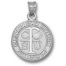 "California State (Fullerton) Titans ""Seal"" Pendant - Sterling Silver Jewelry"