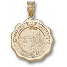 "California State (Sacramento) Hornets ""Seal"" Pendant - 14KT Gold Jewelry"
