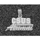"California State (Sacramento) Hornets ""CSUS Alumni"" Pendant - Sterling Silver Jewelry"