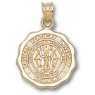 "Eastern Kentucky Colonels ""Seal"" 5/8"" Pendant - 14KT Gold Jewelry"