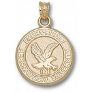 "Embry-Riddle Aeronautical Eagles ""Seal"" Lapel Pin - Sterling Silver Jewelry"
