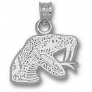 """Florida A & M Rattlers """"Rattler"""" Pendant - Sterling Silver Jewelry"""