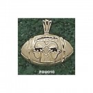 "Fordham Rams ""Ram Football"" Pendant - 14KT Gold Jewelry"