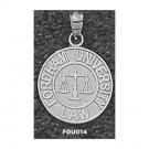 "Fordham Rams ""Law Seal with Scales"" Pendant - Sterling Silver Jewelry"
