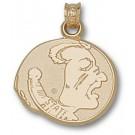 "Florida State Seminoles ""Seminole"" Pendant - 10KT Gold Jewelry"