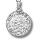"Furman Paladins ""Seal"" Pendant - Sterling Silver Jewelry"