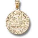 "Furman Paladins New ""Seal"" Pendant - 14KT Gold Jewelry"