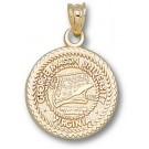 "George Mason Patriots ""Seal"" Pendant - 10KT Gold Jewelry"