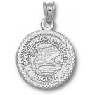 "George Mason Patriots ""Seal"" Pendant - Sterling Silver Jewelry"