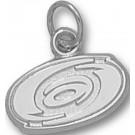 "Carolina Hurricanes ""Hurricanes Logo"" 3/8"" Charm - Sterling Silver Jewelry"