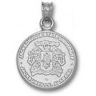 "Jacksonville State Gamecocks ""Crest"" Pendant - Sterling Silver Jewelry"