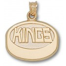 "Los Angeles Kings ""Kings Puck"" Pendant - 10KT Gold Jewelry"