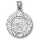 """Kansas State Wildcats """"Seal"""" Pendant - Sterling Silver Jewelry"""