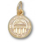 """Longwood Lancers 3/8"""" """"Seal"""" Charm - 14KT Gold Jewelry"""