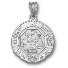 "Liberty Flames ""Seal"" Pendant - Sterling Silver Jewelry"