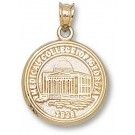 "Medical College of Georgia ""Seal"" Pendant - Gold Plated Jewelry"