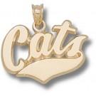 "Montana State Bobcats ""Cats"" Pendant - 14KT Gold Jewelry"