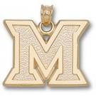 "Miami (Ohio) RedHawks ""M"" Pendant - 14KT Gold Jewelry"