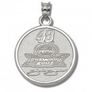 Jimmie Johnson #48 2007 NASCAR Nextel Cup Champion Pendant - Sterling Silver Jewelry
