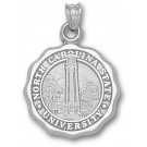 """North Carolina State Wolfpack """"Seal"""" Pendant - Sterling Silver Jewelry"""