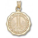 """North Carolina State Wolfpack """"Seal"""" Pendant - 14KT Gold Jewelry"""