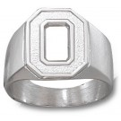 "Ohio State Buckeyes ""O"" Men's Ring Size 11 - Sterling Silver Jewelry"