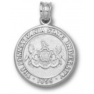 """Penn State Nittany Lions """"Seal"""" Pendant - Sterling Silver Jewelry"""
