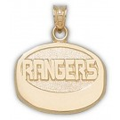 "New York Rangers ""Rangers Puck"" Pendant - 14KT Gold Jewelry"