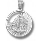 "Seton Hall Pirates ""Chapel"" Pendant - Sterling Silver Jewelry"