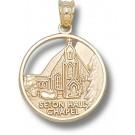 "Seton Hall Pirates ""Chapel"" Pendant - 14KT Gold Jewelry"