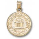"Southern Methodist (SMU) Mustangs New ""Seal"" Pendant - 14KT Gold Jewelry"