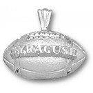 "Syracuse Orangemen ""Syracuse Football"" Pendant - Sterling Silver Jewelry"