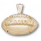 "Syracuse Orangemen ""Syracuse Football"" Pendant - 10KT Gold Jewelry"