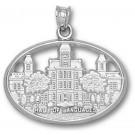 "Syracuse Orangemen ""Hall of Languages"" Pendant - Sterling Silver Jewelry"