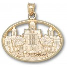 "Syracuse Orangemen ""Hall of Languages"" Pendant - 14KT Gold Jewelry"