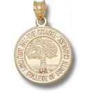 "Citadel Bulldogs ""Seal"" Pendant - 14KT Gold Jewelry"