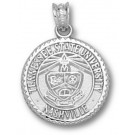 """Tennessee State Tigers """"Seal"""" Pendant - Sterling Silver Jewelry"""