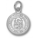 """Transylvania Pioneers """"Seal"""" 1/2"""" Charm - Sterling Silver Jewelry"""